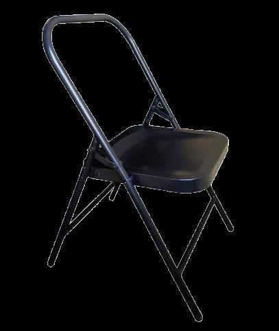 iyengar yoga backless metal chair