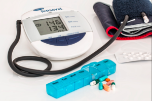 What do you do when blood pressure is too high?