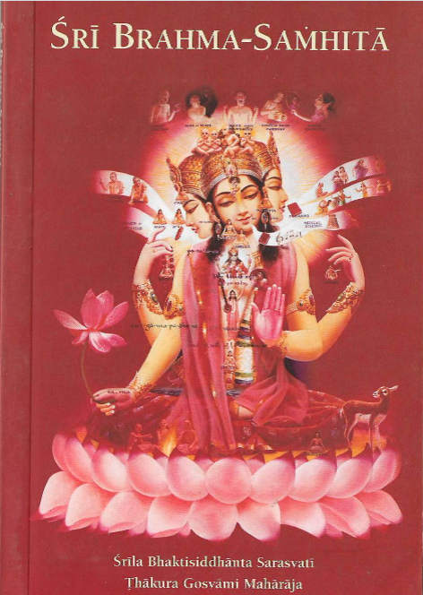 Sri Brahma Samhita The prayers of lord brahma